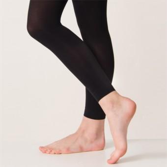 Silky Footless Ballet Tights (Black)