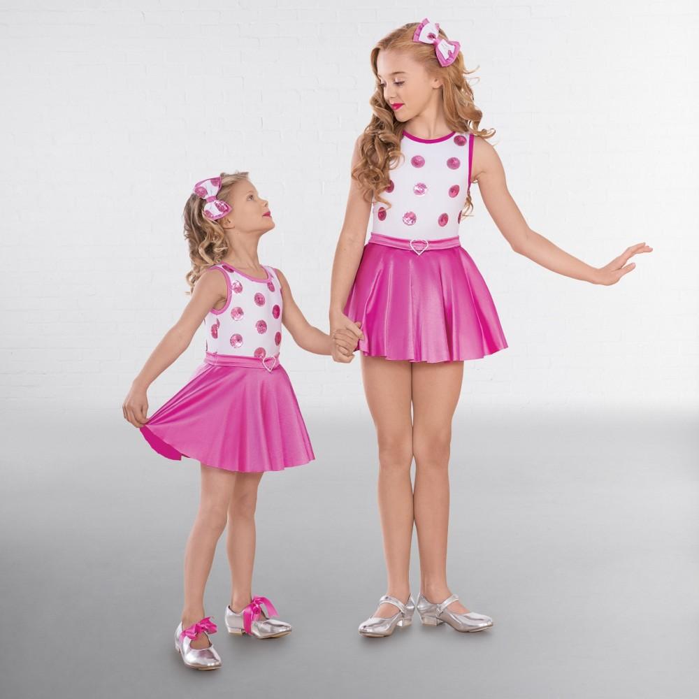 96a6ab65ae8f 1st Position Polka Dot Sequin Glitz Dress - IDS: International Dance ...