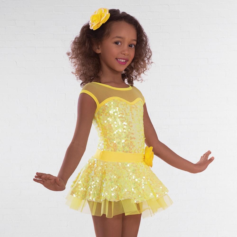 83036618b690 1st Position Sequin Glitz Dress - IDS: International Dance Supplies Ltd