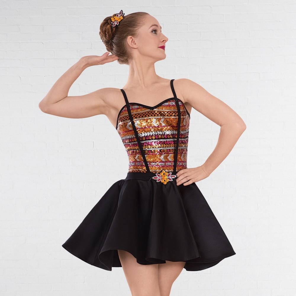 34f3b5c33b2e 1st Position Aztec Glitz Dress - IDS: International Dance Supplies Ltd