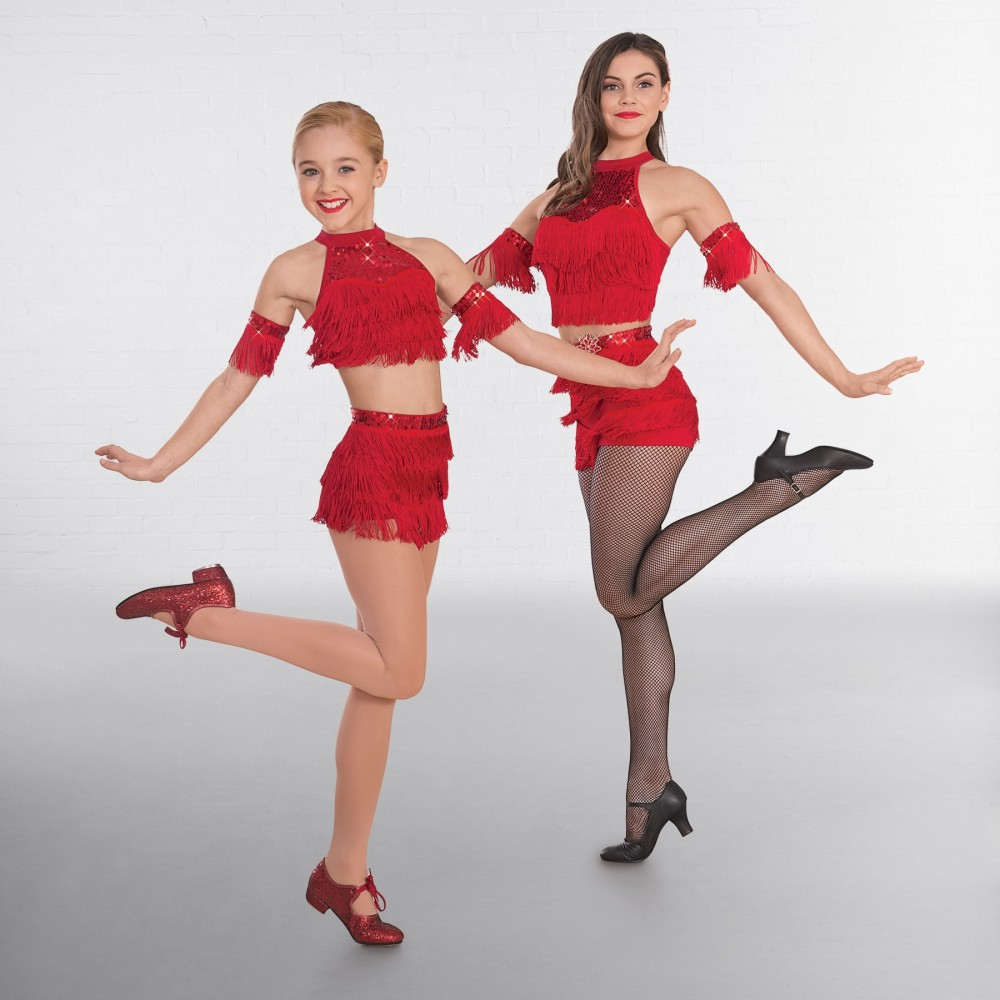 e384fb685534 1st Position Fringe Top and Shorts Glitz - IDS: International Dance ...