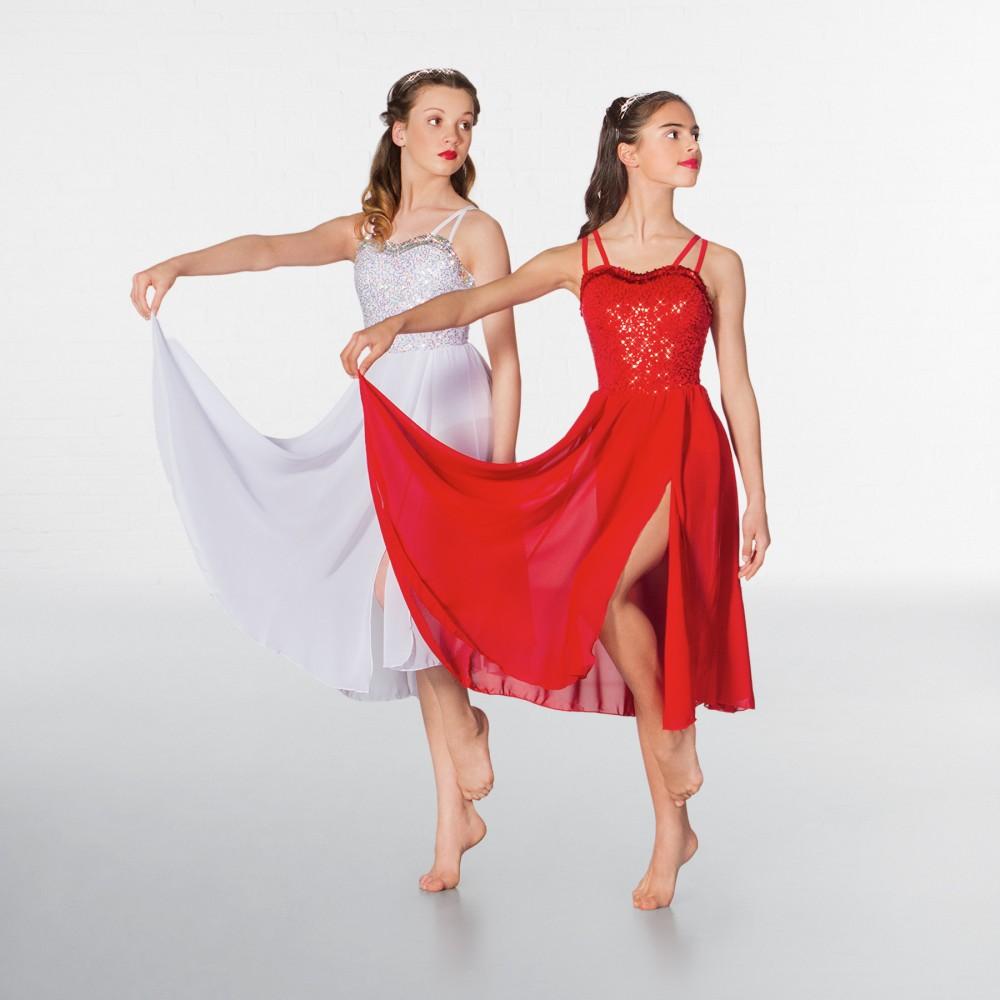 5b9b06b0977f 1st Position Long Sequin Lyrical Dress - IDS: International Dance ...