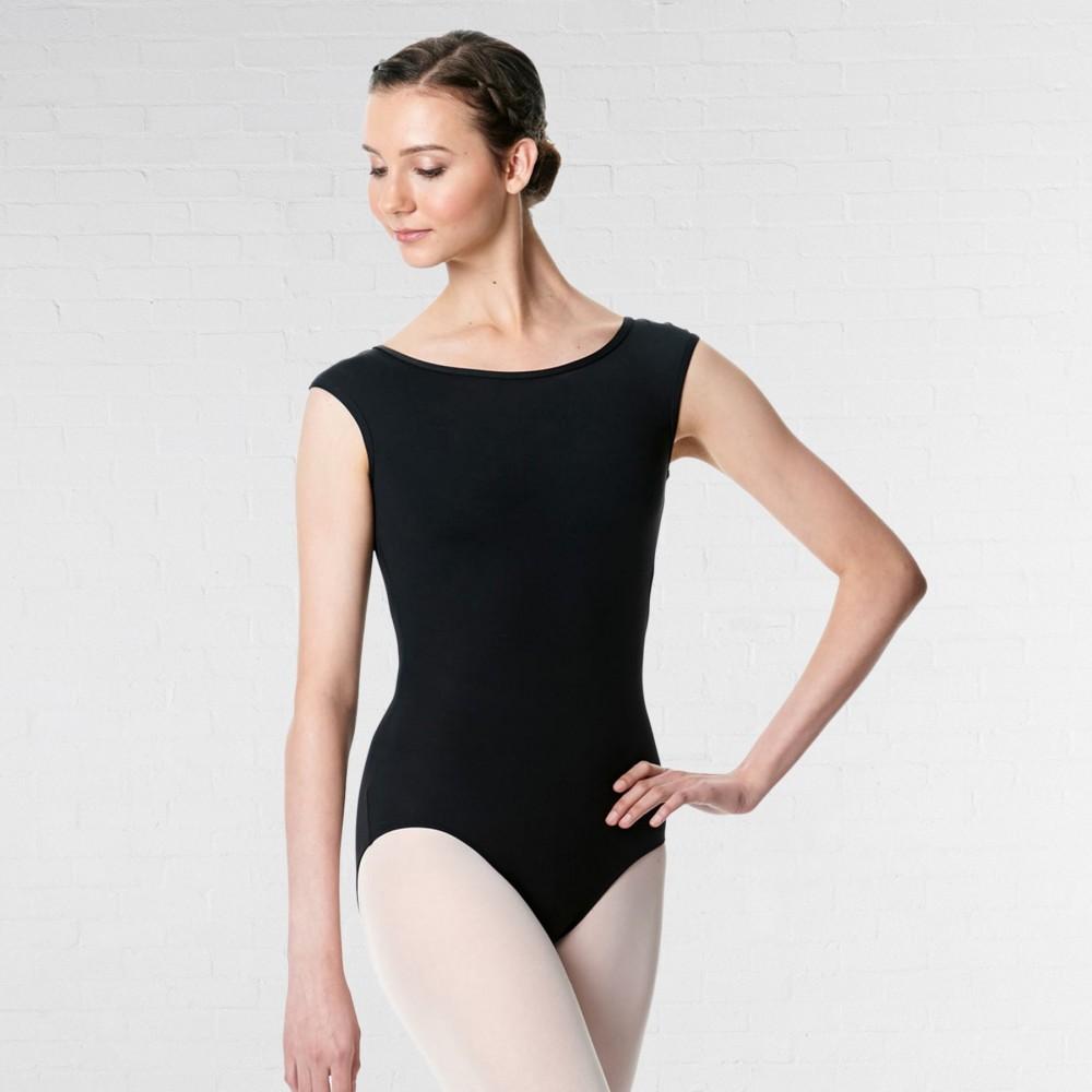 630f69d7 Lulli Cap Sleeve Microfiber Dance Leotard Farah - IDS: International ...
