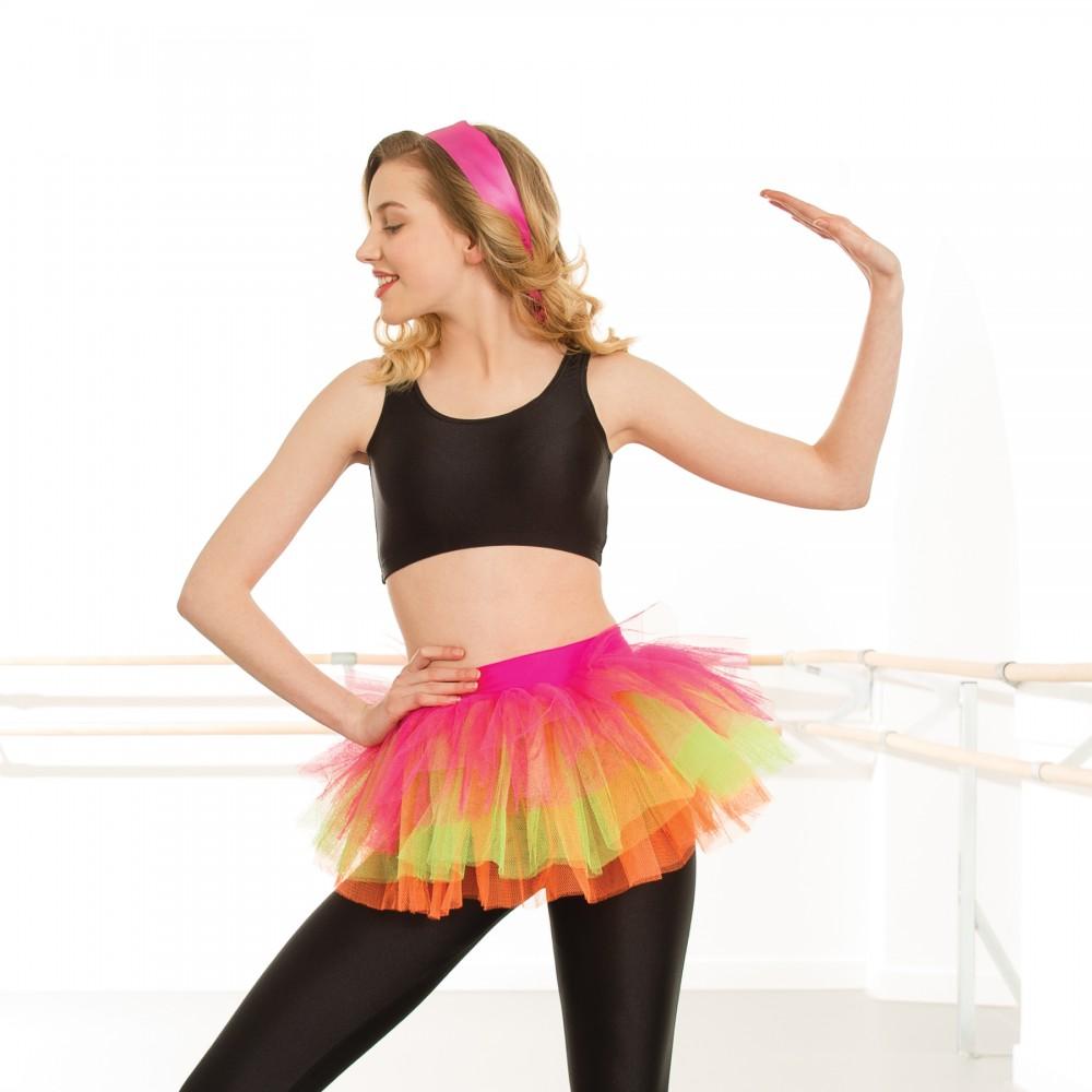 b15aad920d Multi Neon Tutu Skirt - Adult One Size - IDS: International Dance ...