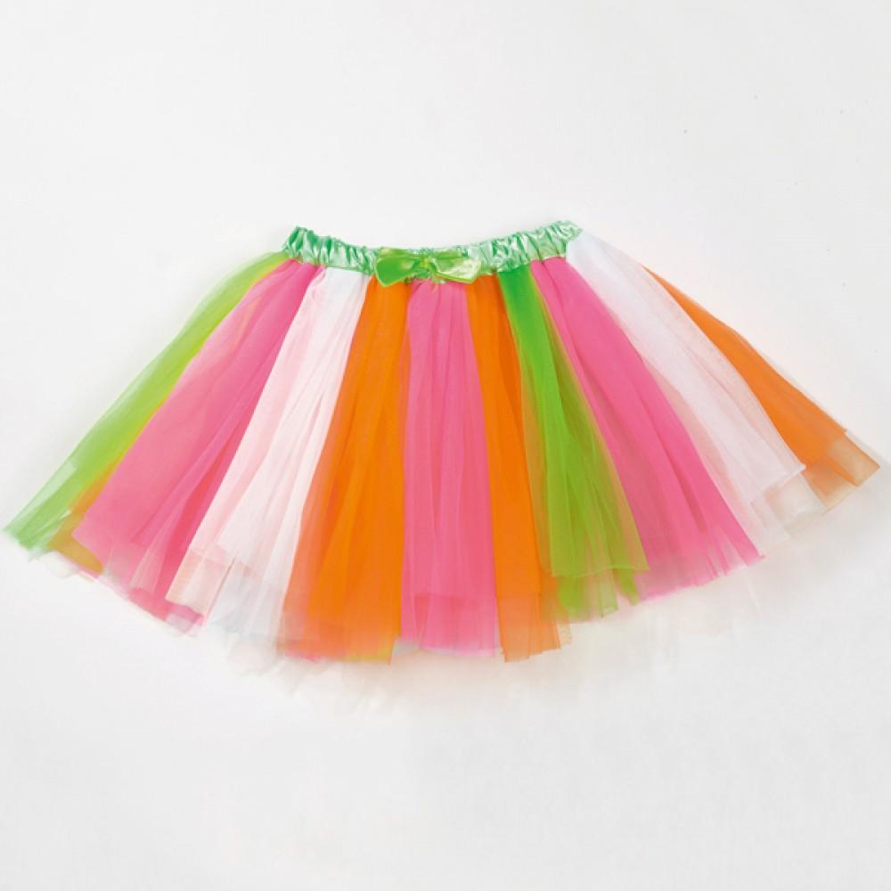 8177f5becf Neon Multi Coloured Tutu Skirt - IDS: International Dance Supplies Ltd