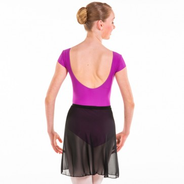 1st Position Wrapover Voile Skirt