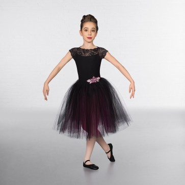 b17bf9b1d063 1st Position Lace Cap Sleeved Two Tone Romantic Tutu - IDS ...
