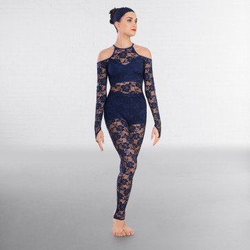 1st Position Lace Unitard