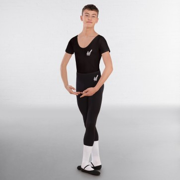 IDT Male Ballet Short Sleeved Scoop Neck Leotard