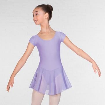 IDTA Preparatory & Primary Ballett-Trikot mit angenähtem Röckchen