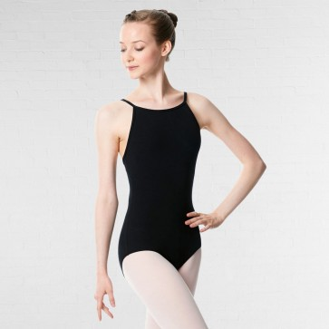 Lulli Brushed Cotton Camisole Dance Leotard Calla