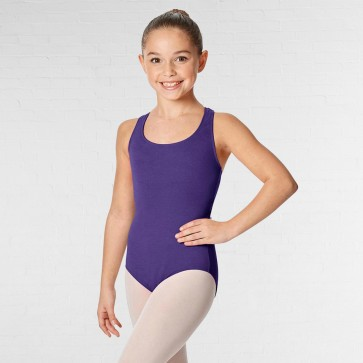 Lulli Brushed Cotton Tank Dance Leotard Ember