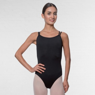 Lulli Double Strapped Camisole Microfiber Dance Leotard Nina