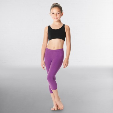 Lulli Brushed Cotton Capri Dance Leggings Rayna