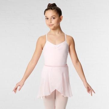 Lulli Falda de Ballet Clásica Cruzada de Gasa Roxy
