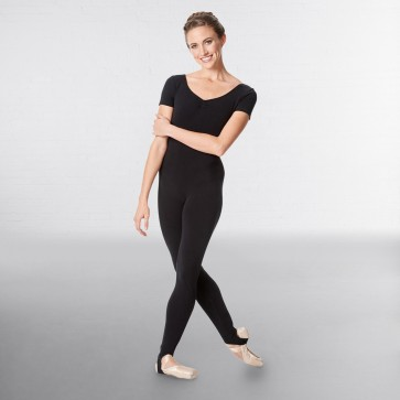 Lulli Short Sleeve Cotton Unitard Sophie
