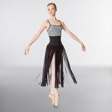 Lulli Mesh 2 Sides Slit Sheer Skirt Keira