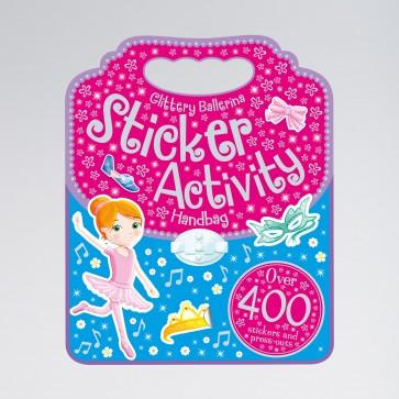 My Glittery Ballerina Sticker Handbag