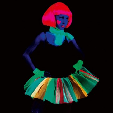 Black & Neon Funky Tutu