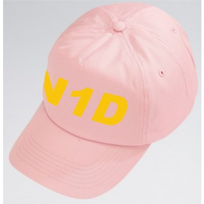 PP *#051102#* Cotton Baseball Cap (Pale Pink) with N1 Dance Logo