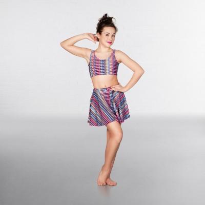 1st Position Circular Skirt  Aztec Print