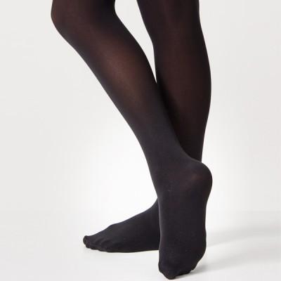 Silky Ballet Full Foot Tights (Black)