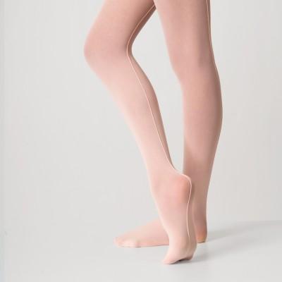 Silky Seamed Ballet Tights
