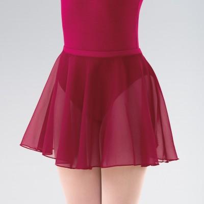 Adagio ISTD Circular Chiffon Skirt (Plum)