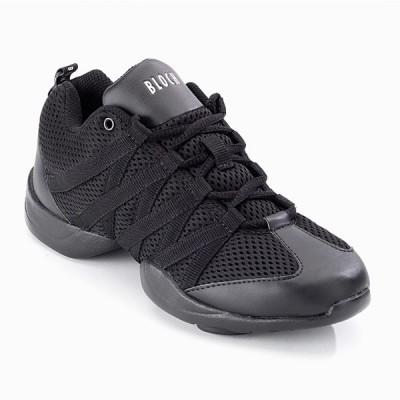 Bloch Criss Cross Mesh Sneakers (Black)