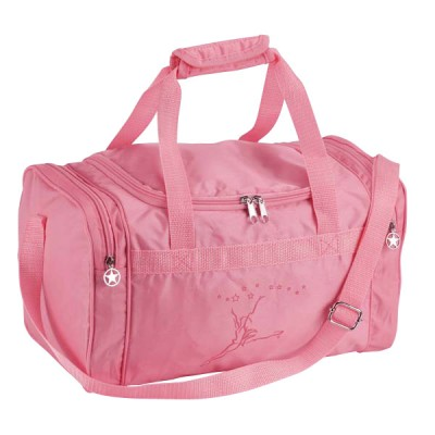 Capezio Childrens Duffle Bag - Stars Pink
