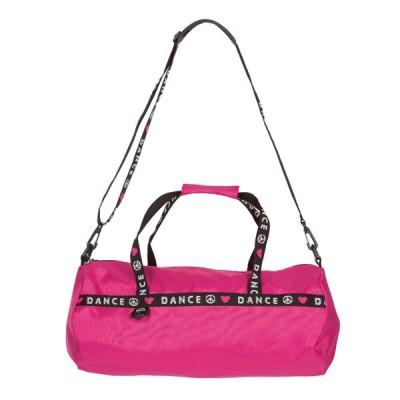 Capezio Love Peace Dance Duffle Bag - Hot Pink