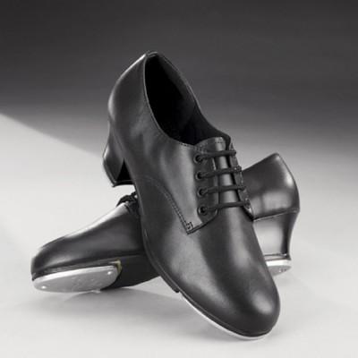 Capezio West End 2 Cuban Heel Oxford Tap Shoes (Black)