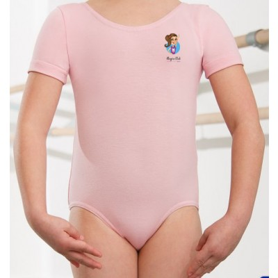 1st Position Kate Pre/ Primary Leotard (Pale Pink) with Alegria Club Logo