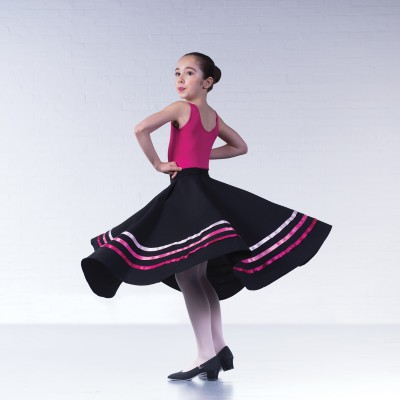RAD Style 1st Position Character Skirt (Pinks)