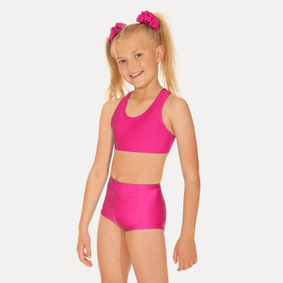 Roch Valley Crop Top (Shocking Pink)