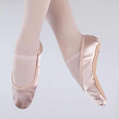 1st Position Satin Ballet Shoes (Pink)