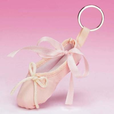 Katz Pointe Shoe Keyring Pink