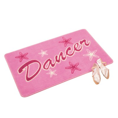 Pink Dancer Bedroom Rug
