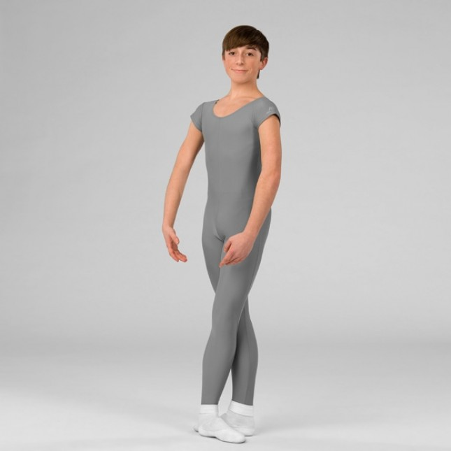 ABT Mens Stirrup Unitard (Grey)