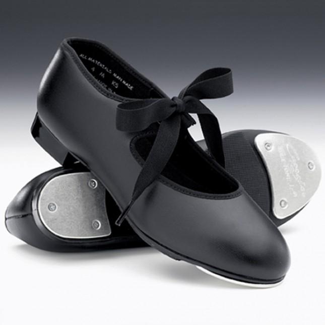 Capezio Junior Tyette Tap Shoes (Black)
