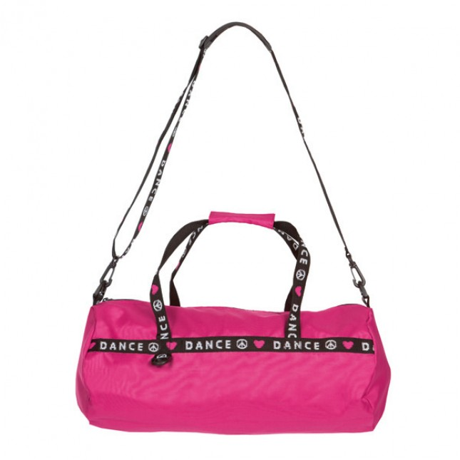 Capezio Love Peace Dance Duffle Bag - Hot Pink