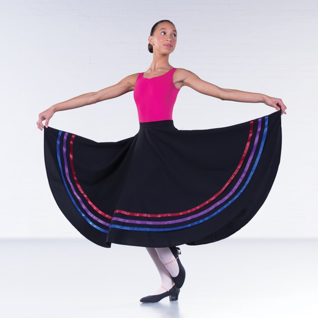 RAD Style 1st Position Character Skirt (Brights)
