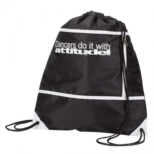 "Sac ""Dancers Do It With Attitude"" (Black)"