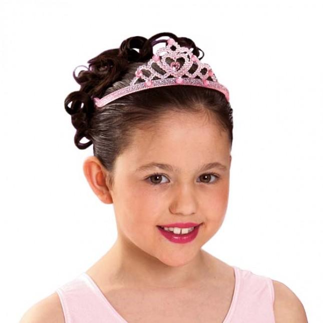 Pink Glitter Tiara