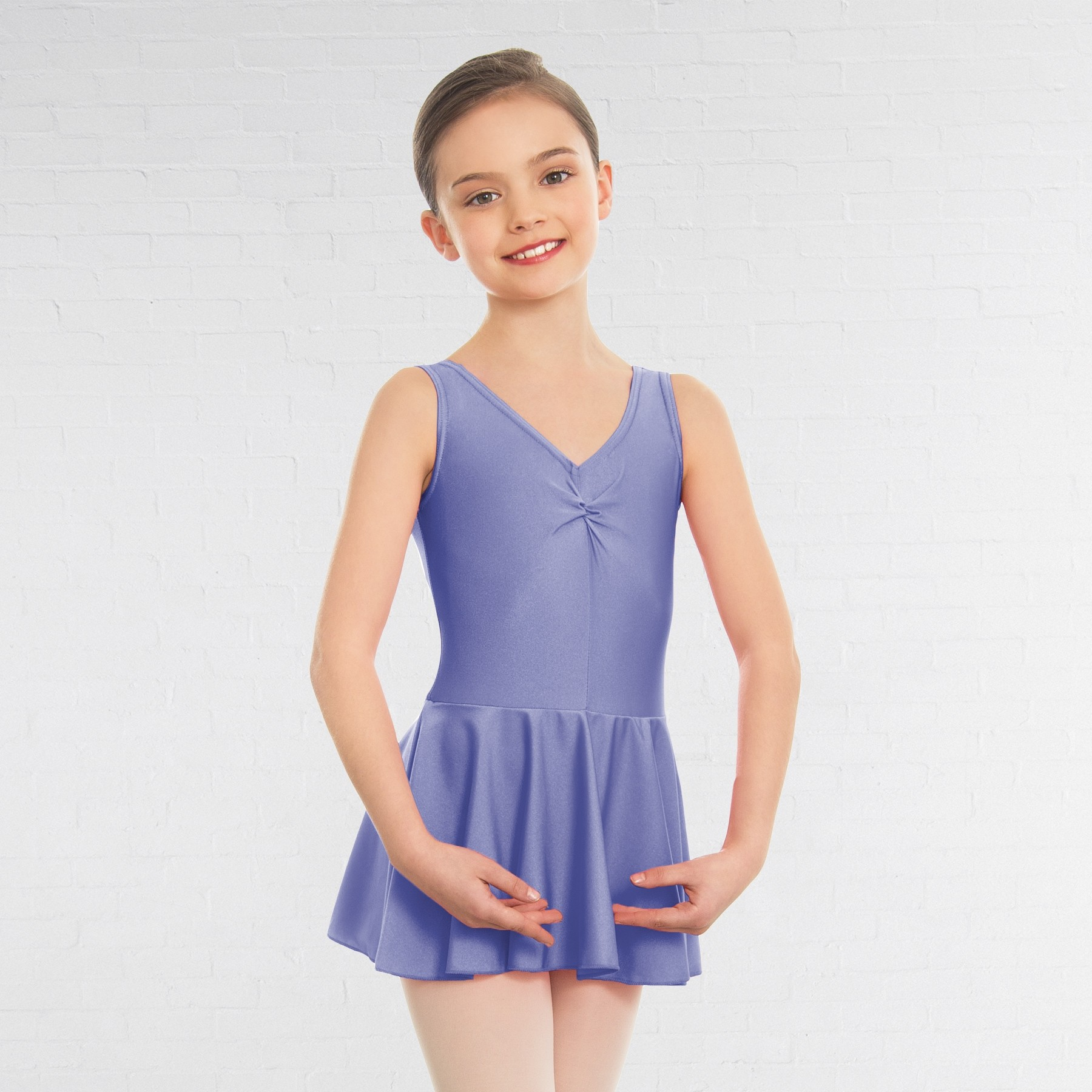 1st Position Amy Skirted Leotard (Lilac)