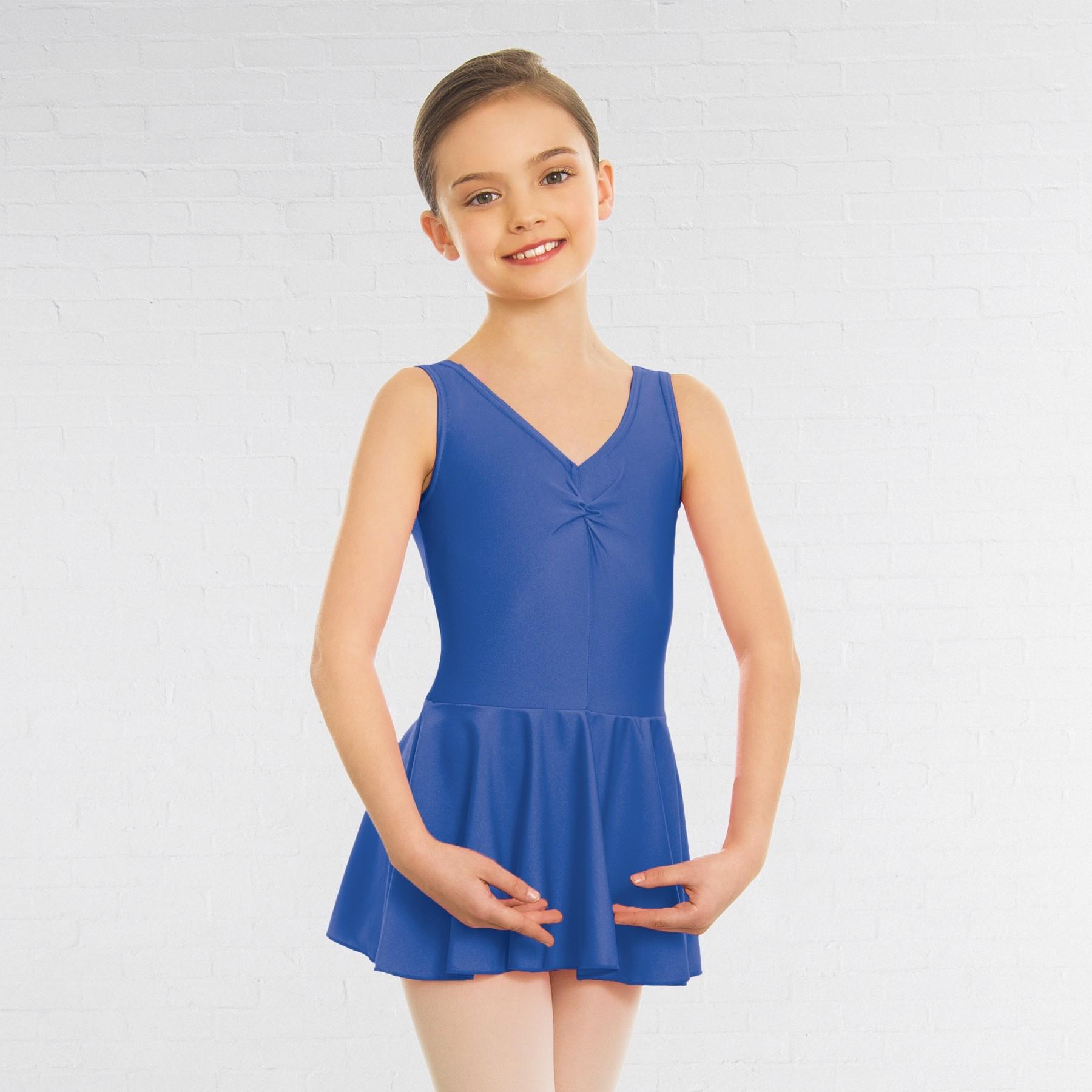 1st Position Amy Skirted Leotard (Royal Blue)