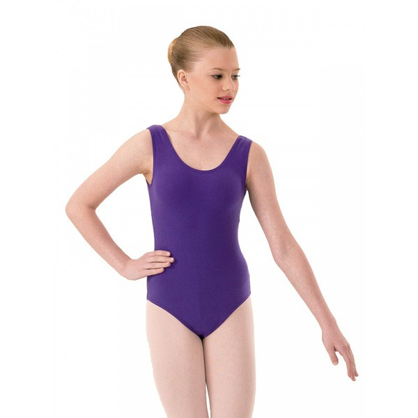1st Position Laura Primary/Grade IV Leotard (Purple)