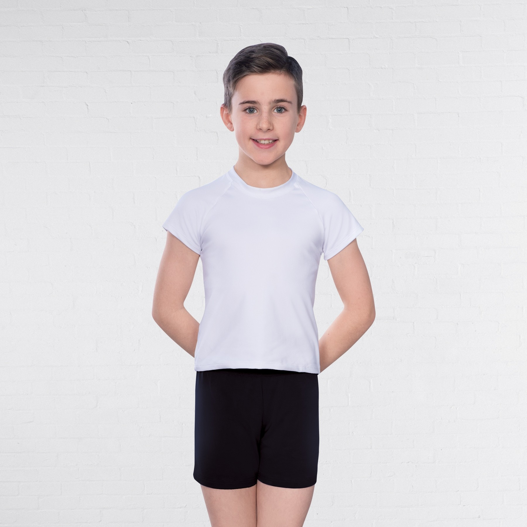 1st Position Boy's Loose Shorts (Black)
