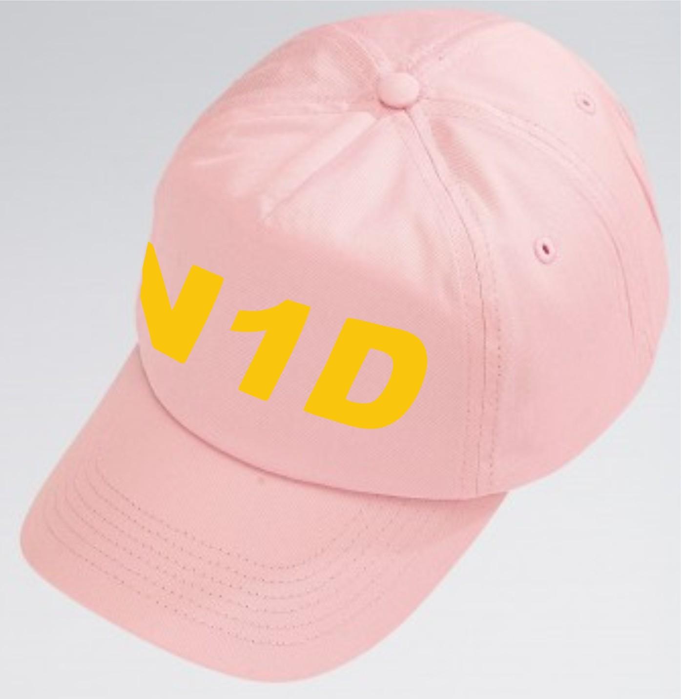 PP *#051102#* Cotton Baseball Cap (Pale Pink) with N1 Dance Logo