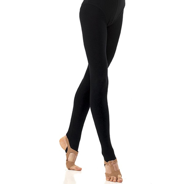 1st Position Stirrup Tights Cotton (Black)